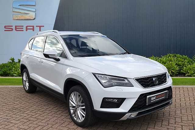 SEAT Ateca SUV 1.6 TDI (115ps) Xcellence Ecomotive 5-Dr