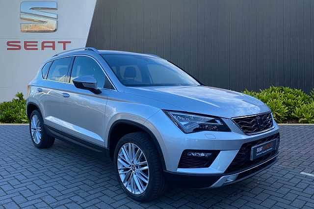 SEAT Ateca XCELLENCE 1.4 EcoTSI 150 PS 6-speed manual